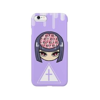 流行りのゆめかわいいヤンデレちゃん Smartphone cases