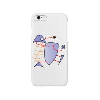 魚プラモ Smartphone cases