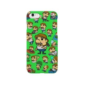農家のおっさん 大野さん Smartphone cases
