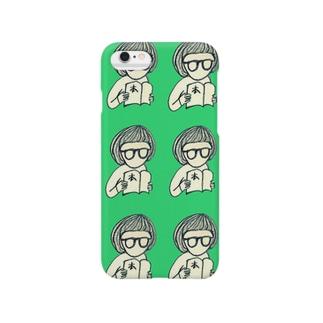 読書女子 Smartphone cases