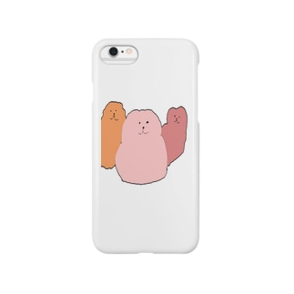 もにゃもにゃ Smartphone cases