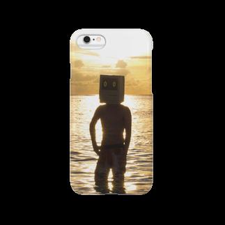 NET SHOP BOYSのサンセットさん Smartphone cases
