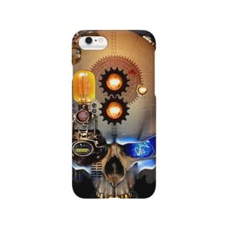 スカルのスマホケース Smartphone cases