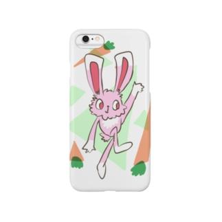 うさぎん Smartphone cases