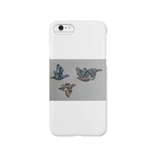 グースのお出掛け Smartphone cases