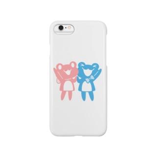 めろんとれもんシンプルタイプ2 Smartphone cases