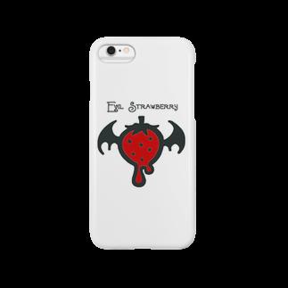 久井めぐみショップのEvil Strawberry Smartphone cases