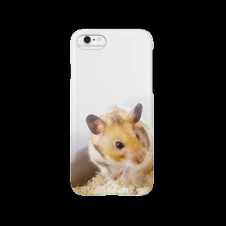 海星ひとでのゴールデンハムスター Smartphone cases