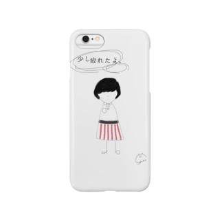 疲れちゃった少女 Smartphone cases