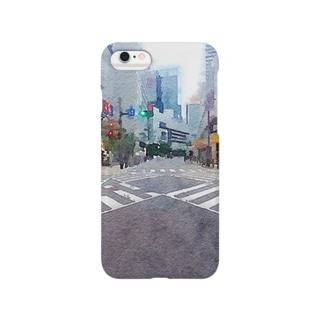 SHOPelicansのコンクリートの世界 Smartphone cases