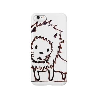 たそがれライオン Smartphone cases