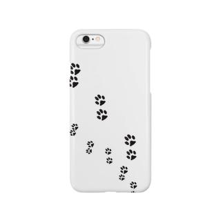 ねこ ネコ 猫が来た! Smartphone cases