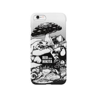 扉絵(モノクロver) Smartphone cases