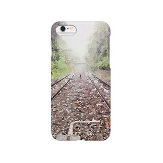 線路な世界 Smartphone cases
