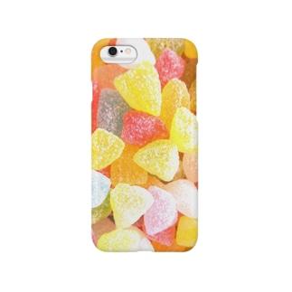 駄菓子屋さんのさんかくの飴 Smartphone cases