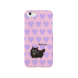 iPhone6用[佐藤家ペットシリーズ] ハートとあんずさん Smartphone cases