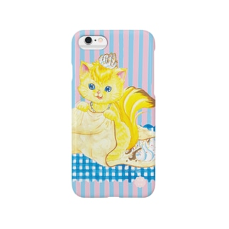 iPhone6用 [フルーツ猫・Sweetsシリーズ] Crepe house MUSA Smartphone cases