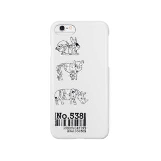 No.538ドウブツ Smartphone cases