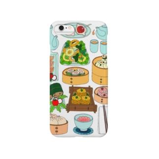 飲茶のセット Smartphone cases
