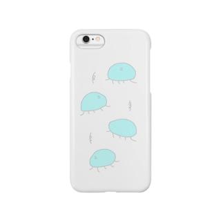 くるくるとまわる Smartphone cases