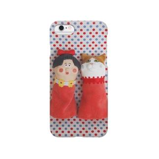 りぼんちゃんとネコ Smartphone cases