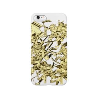 獣太平記 野の獣組 Smartphone cases