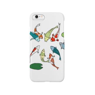 鯉の集会 Smartphone cases