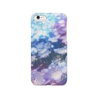 青い花 Smartphone cases