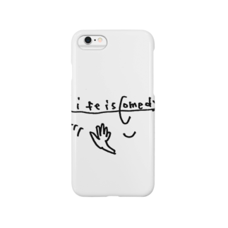 misecoのLife is comedy  Smartphone cases