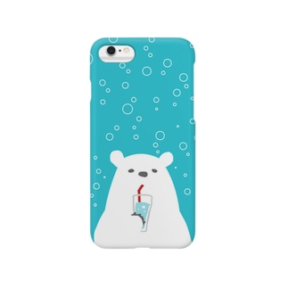イタリアンクマ・ソーダ Smartphone cases