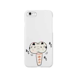 仙台弁こけし(キュッキュッキュッ) Smartphone cases