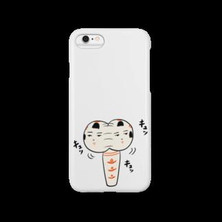 仙台弁こけしの仙台弁こけし(キュッキュッキュッ) Smartphone cases