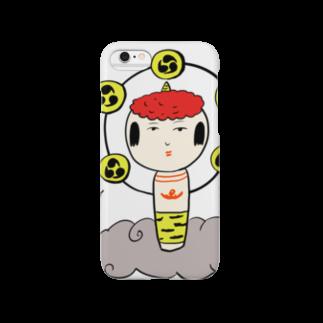 仙台弁こけしの仙台弁こけし(おれさま) スマートフォンケース