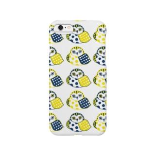 ふくろう02 Smartphone cases
