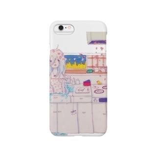 台所からこんにちは Smartphone cases