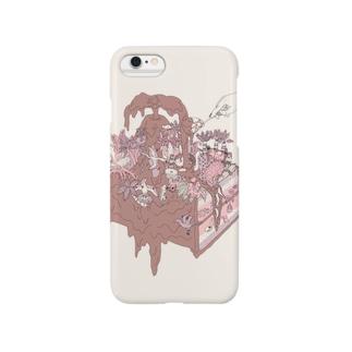 チョコレートケーキ Smartphone cases