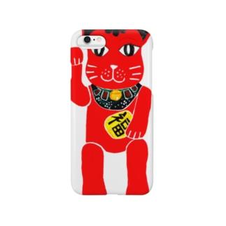 招き猫B2 Smartphone cases