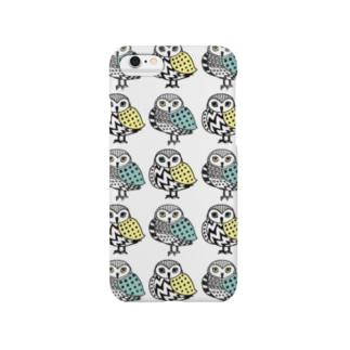 ふくろう Smartphone cases