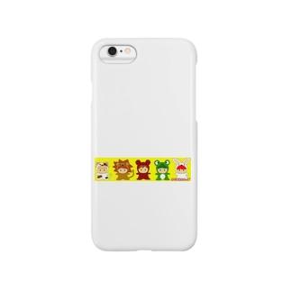 きぐるみんきっず Smartphone cases