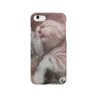 *猫シリーズ*ぺろりーぬ Smartphone cases