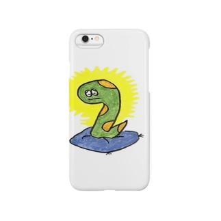 ヘビ太の冥想 Smartphone cases