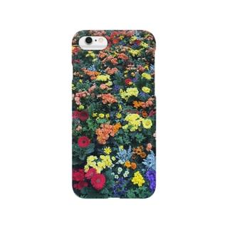 お花いっぱい Smartphone cases