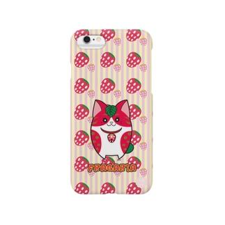 iPhone6用 [フルーツ猫シリーズ]いちごの猫・フラガリア Smartphone cases