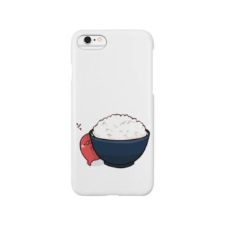 たらこご飯 Smartphone cases
