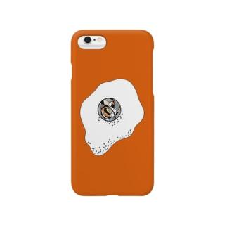 メダマ オレンジ Smartphone cases