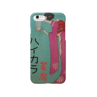 レトロTOKIO ハイカラ茶房 Smartphone cases