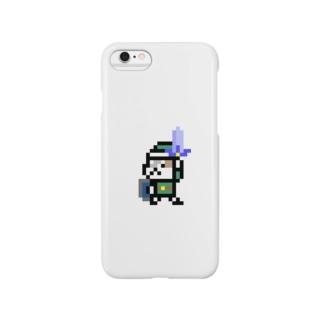 ネコブレイバー緑 Smartphone cases