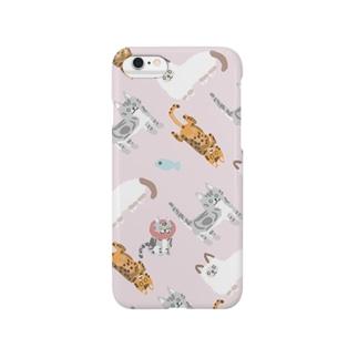 MyCats ピーチ Smartphone cases