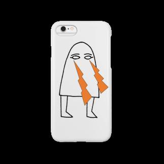 Sylvia T Egyptのメジェド・ビーーーム Smartphone cases