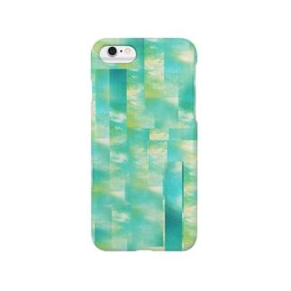 モザイクな空 Smartphone cases